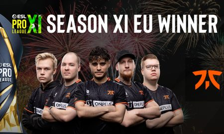 fnatic, ESL Pro League Season 11 Europe şampiyonu oldu